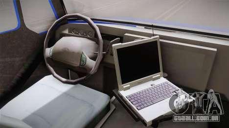 International Terrastar Ambulance 2014 para GTA San Andreas vista interior