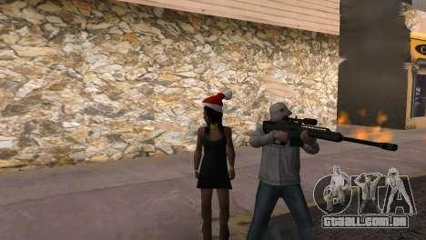Heavysniper rifle para GTA San Andreas sexta tela