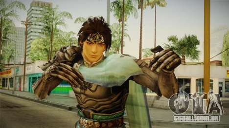 Warriors Orochi 3 - Zhao Yun (DW6) para GTA San Andreas