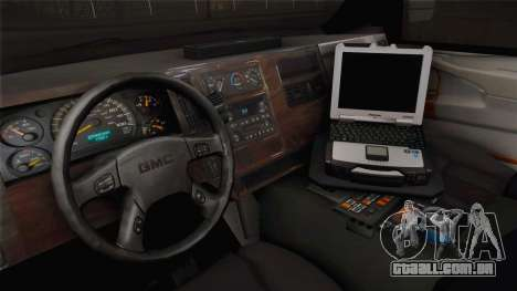 Chevrolet Express 2011 Ambulance para GTA San Andreas vista interior