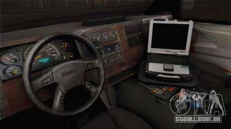 Chevrolet Express 2011 Ambulance para GTA San Andreas vista interior