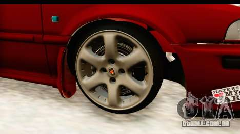 Rover 220 Kent 2 para GTA San Andreas vista traseira