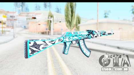 AK-47 Frontside Misty para GTA San Andreas segunda tela