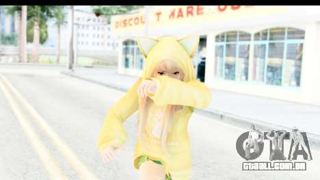 Marie Rose Newcomer Yellow para GTA San Andreas