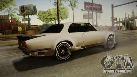 Jaguar Broadspeed XJC para GTA San Andreas