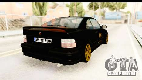 Rover 220 Kent Edition para GTA San Andreas traseira esquerda vista