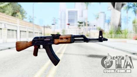 Kalashnikov AKM para GTA San Andreas