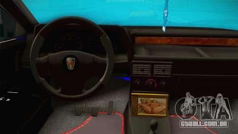 Rover 220 Bozgor Edition para GTA San Andreas vista interior