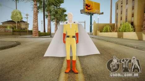 Saitama v2 para GTA San Andreas segunda tela