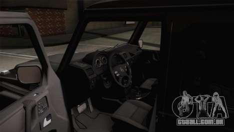 Mercedes-Benz G500 para GTA San Andreas vista direita