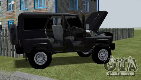 Uaz Hunter para GTA San Andreas esquerda vista