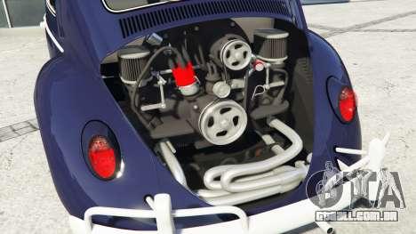 GTA 5 Volkswagen Fusca 1968 v0.9 [add-on] vista lateral direita