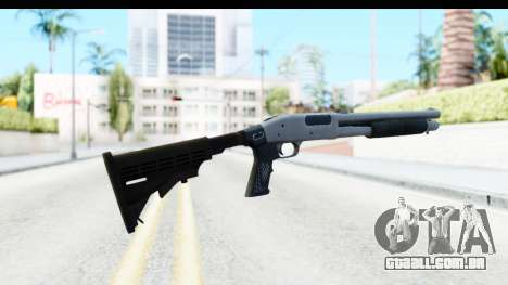 Tactical Mossberg 590A1 Chrome v2 para GTA San Andreas segunda tela