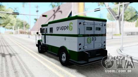GTA 5 Stockade v1 IVF para GTA San Andreas esquerda vista