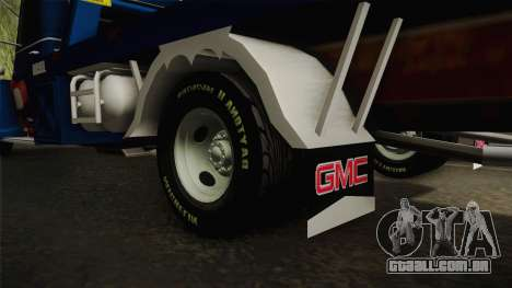 GMC 4100 1950 GRUA para GTA San Andreas vista interior