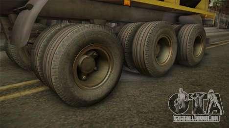 MAZ 99864 Trailer v3 para GTA San Andreas vista traseira