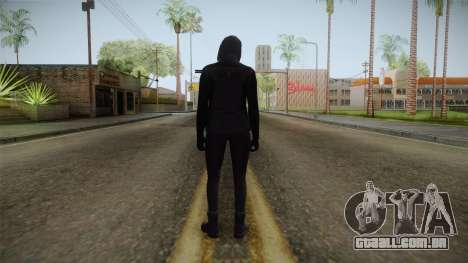 GTA 5 Heists DLC Female Skin 1 para GTA San Andreas terceira tela