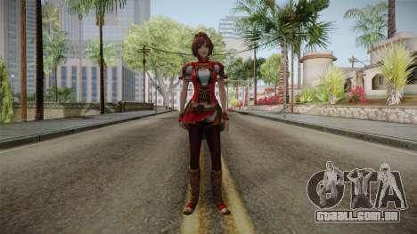 Dynasty Warriors 8 - Sun ShangXiang Remade para GTA San Andreas segunda tela