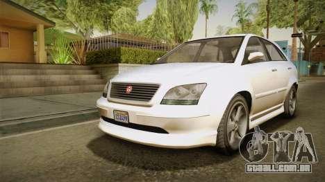 GTA 5 Emperor Habanero IVF para GTA San Andreas