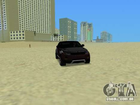 Range Rover Evoque para GTA Vice City