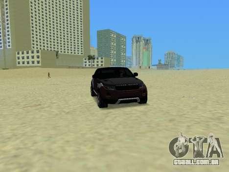 Range Rover Evoque para GTA Vice City