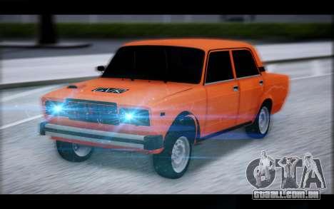 VAZ 2105 patch 2.0 para GTA San Andreas