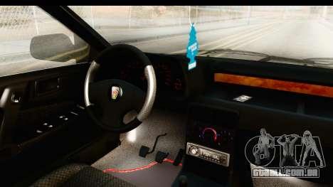 Rover 220 Kent Edition para GTA San Andreas vista interior