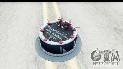 Han Farhan Cake Grenade para GTA San Andreas