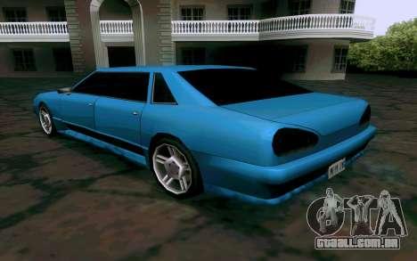 Elegy Sedan para GTA San Andreas vista direita