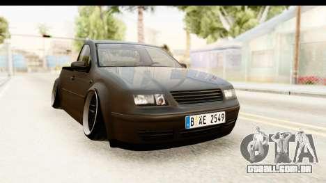 Volkswagen Bora Pickup para GTA San Andreas vista direita