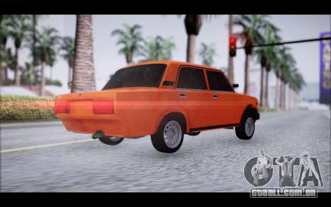 VAZ 2105 patch 2.0 para GTA San Andreas esquerda vista