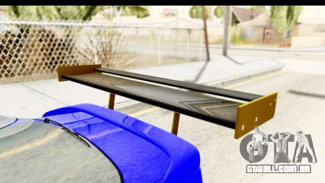 Rover 220 Kent Edition de Haur para GTA San Andreas vista traseira