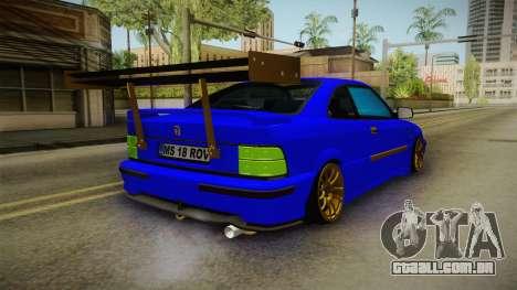 Rover 220 Bozgor Edition para GTA San Andreas esquerda vista