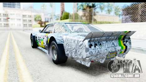 GTA 5 Declasse Tampa Drift IVF para as rodas de GTA San Andreas