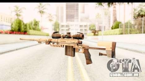Cheytac M200 Intervention Tan para GTA San Andreas segunda tela