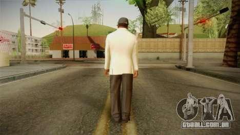 GTA 5 Franklin Tuxedo v3 para GTA San Andreas terceira tela