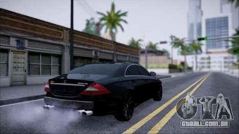 Mercedes-Benz Cls 630 para GTA San Andreas vista traseira