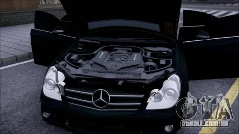 Mercedes-Benz Cls 630 para GTA San Andreas vista direita