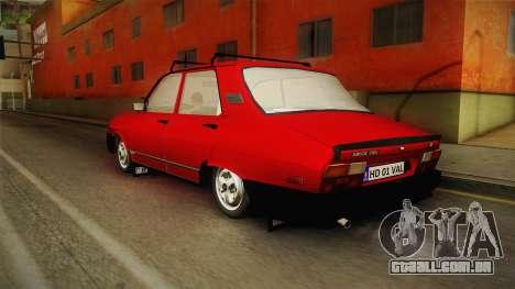 Dacia 1310 TX 1986 v2 para GTA San Andreas esquerda vista
