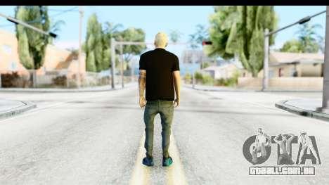 Blonde Messi para GTA San Andreas terceira tela