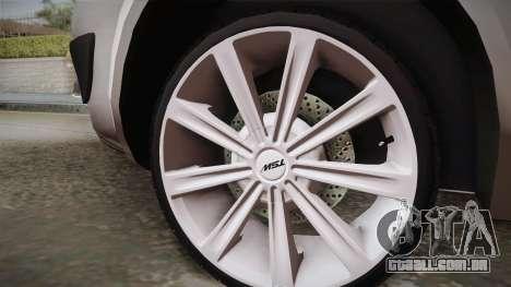Renault Scenic II para GTA San Andreas traseira esquerda vista