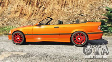 GTA 5 BMW 328i (E36) M-Sport v1.1 [replace] vista lateral esquerda