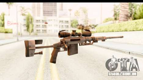 Cheytac M200 Intervention Black para GTA San Andreas segunda tela