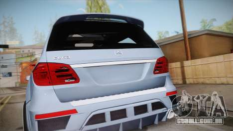 Mercedes-Benz GL63 Brabus para GTA San Andreas vista direita