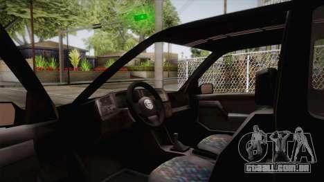 Volkswagen Golf Mk3 Blyatmobile para GTA San Andreas