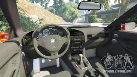 GTA 5 BMW 328i (E36) M-Sport v1.1 [replace] vista lateral direita