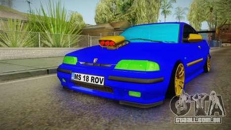 Rover 220 Bozgor Edition para GTA San Andreas vista direita