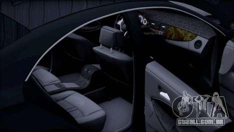 Mercedes-Benz Cls 630 para GTA San Andreas vista superior