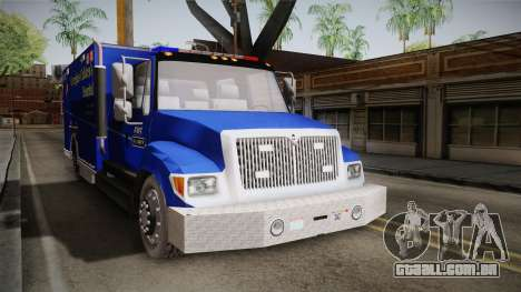 International Terrastar Ambulance 2014 para GTA San Andreas vista direita