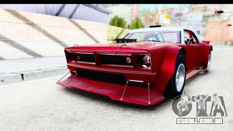GTA 5 Declasse Tampa Drift IVF para GTA San Andreas vista direita